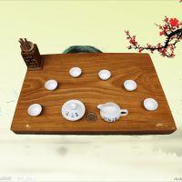 特价红木茶盘 茶台 柚木王功夫茶具茶海 整块实木茶盘木质托盘001