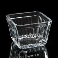 小额批发 透明小号玻璃方缸鱼缸 金鱼缸 乌龟缸 烟灰缸 小碟盘