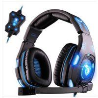 赛德斯sa907高端电脑游戏耳麦7.1声道WCG专用电竞耳机头戴式有线