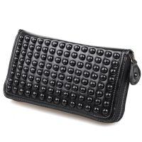 批发供应韩版2013新款手包 男式钱包 铆钉 手拿包HSJ37ZOO1/Q013