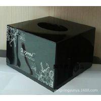 清洁用品/酒店卫浴/收纳盒/整理用具/方形面巾纸盒台面抽纸巾盒