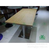 简约板式餐桌 桌子 连锁餐厅家具 板式餐桌 工厂专业定制餐桌椅