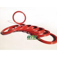 无锡供应进口红色硅胶耐高温星型圈厂家