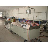 青岛隆昌捷SJSZ65PVC石塑料型材生产线