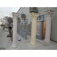 青岛花瓶柱超市 青岛花瓶柱创新造型 青岛大理石花瓶柱 青岛真石漆花瓶柱
