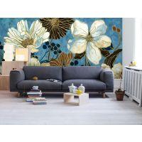 英仑壁画供应 客厅电视沙发卧室背景墙壁画 无缝大型环保 无纺布