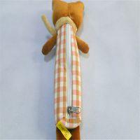 中可弘世定制毛韩版绒小熊猫公仔铅笔笔袋 卡通大眼熊猫公仔圆形笔筒 儿童礼物礼品