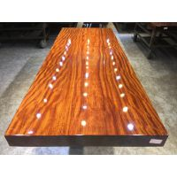 家有名木供应红塔利原生态实木大板餐桌茶桌画案会议桌办公桌简约家具大班台非洲原木台面