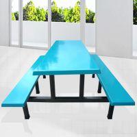 康胜KS-工厂员工食堂餐桌椅(坚固耐用)工厂食堂餐桌椅价格