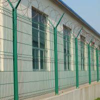 浸塑护栏网 低碳钢丝围栏网厂家直销小区护栏网