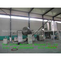 Silane cross-linked polyethylene cable material granulator production line
