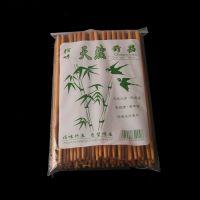 竹制餐具有结酒店筷促销礼品餐具套装一包40双装火锅店筷子批发