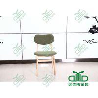优质茶餐厅餐椅 牛角椅子 实木餐椅 书房椅 连锁快餐椅