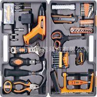 54件套超级多功能家用组合工具带电钻家庭维修必备工具 五金工具