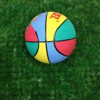 橡胶篮球  无锡蓝达3号胶蓝 儿童 幼儿园手拍球