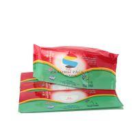 供应东莞兆美 洁肤湿巾袋 电缆清洁纸袋 无妨不清洁包装袋 儿童湿巾包装袋