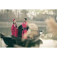摄影道具乌篷船 婚纱摄影公司拍照木船