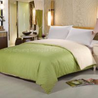 100% cotton and poly/cotton fabric solid color duvet covers