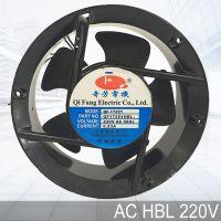 QFDJ 圆形散热风扇 AC17251HBL 交流 110V/220V/380V 双滚珠轴流风机