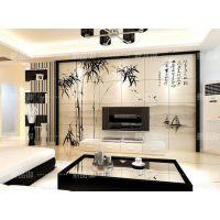 客厅瓷砖电视背景墙理光平板打印机