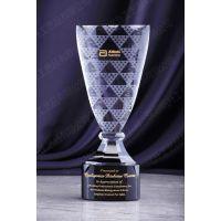 创新技术人员奖杯 网络开发人奖杯 南宁哪里可以定做水晶奖杯