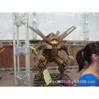 钢铁神话 3米天火 大型环保艺术钢雕 电影道具 变形金刚3机器人