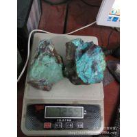 供应天然绿松石原石400一KG量大更优惠