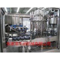 自动玻璃瓶含汽饮料灌装机生产线,碳酸饮料生产线,三合一灌装机