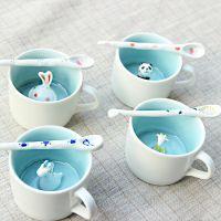 礼品陶瓷杯定制,唐龙创意陶瓷杯定制