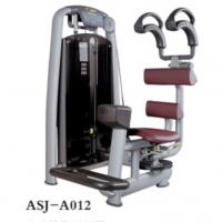 供应奥圣嘉坐姿转体训练器ASJ-A012躯干转体专业健身房器材商用门顶护盖