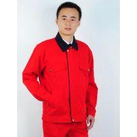 重庆红色厚型帆布工作服耐磨