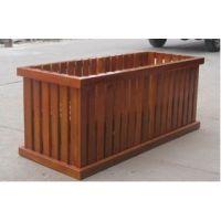 物业木质花槽供应、楼盘绿化花箱定做、花箱报价