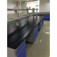 实验室办公家具 钢木中央台边台 石家庄实验台生产供应商家
