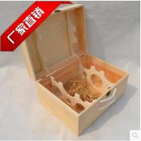 厂家直销精美红酒盒高档礼品盒红酒木箱定做六支木盒