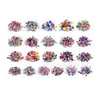 亚马逊 速卖通热销105合一组合套装混色亚克力穿刺饰品C00002