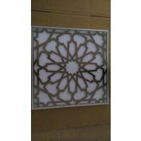 纯铝板水切割加工合金铝板水切割加工铝雕花屏风镂空加工铝非标零件切割加工