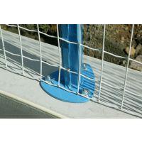 铁丝围栏网/绿色包塑铁丝波浪形护栏网