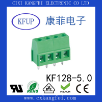 螺钉式接线端子 KF128V-5.0/5.08间距 慈溪康菲电子
