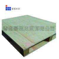 木栈板黄岛厂家定做直销单面胶合板周转