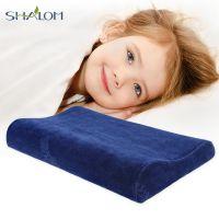 淳梦儿童枕头3-6-12岁幼儿园防螨护颈枕加长学生记忆枕太空棉枕芯