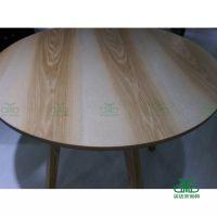 福田甜品店防火板餐桌定做 中式餐厅实木餐桌椅 运达来家具