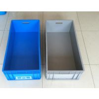 EU4833丰田汽车件专用箱 堆叠式汽车物流箱 定做塑料周转箱 塑料周转箱规格大全 塑料零件盒价格