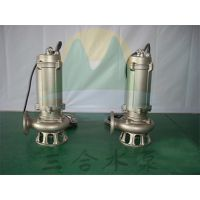 WQF 不锈钢耐高温潜水泵,全不锈钢304热水污水泵