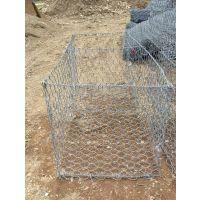 河道治理格宾网|2x1x1m覆塑格宾石笼|护堤护岸格宾网笼|堤岸护脚格宾网垫