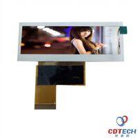 条形LCD液晶屏 3.9寸屏 tft彩屏 工业显示屏 液晶模块