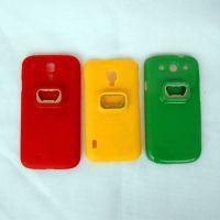 供应三星手机壳开瓶器  S3 S4 手机壳   多彩手机保护套