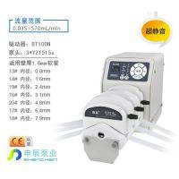 标准型BT100N蠕动泵 多泵头 高精度 多种外控方式