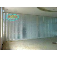 供应优质PVC折叠门隔断门PVC商铺专用折叠门《GB006》18700973822