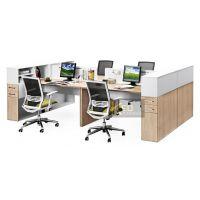 现代组合办公桌 专业板式家具工厂 生产销售办公家具 环保家具