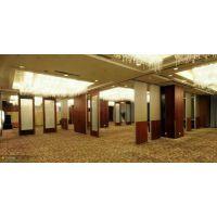 宁夏专业酒店包厢65活动隔断宴会厅移动隔音墙推拉折叠门厂家